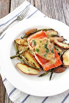 Simple but elegant! Pan Seared Copper River Salmon with Mustard Beurre Blanc