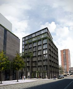 Shoreditch   London   2014-2017 Kyson have been commissioned to design the new Hotel for the Blakes Hotel Group in Shoreditch, within an architectural environment that distils the character of the area's rapidly evolving urban landscape and c...