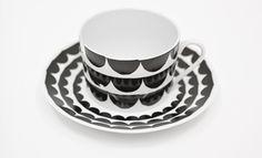 trendsisters.se - Kopp - Just my cup of tea – Tu es la vague /black
