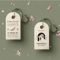 "H E A V Y on Instagram: ""Tag! You're it. 🌿⠀ .⠀ .⠀ .⠀ .⠀ .⠀ #branding #brand #logo #design #graphicdesign #heavymx #brandsarepeople #design #label #packaging…"" Corporate Identity Design, Brand Identity Design, Graphic Design Branding, Label Design, Packaging Design, Print Design, Hangtag Design, Material Design, Communication Design"