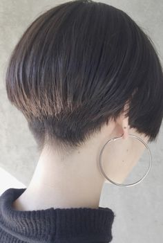 Asian Short Hair, Girl Short Hair, Short Hair Cuts, Korean Haircut, Beauty Makeup, Hair Beauty, Shot Hair Styles, Haircut And Color, New Haircuts
