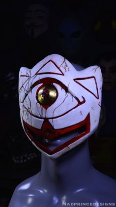 The mask of truth from the legend of zelda majoras mask made in a realistic style