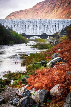 Rhayader Dams, Elan Valley Wales