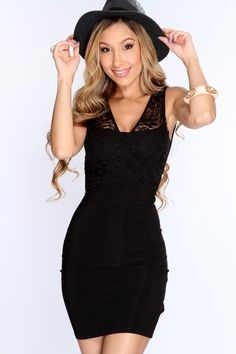 Get dolled up for date night in sexy one of a kind dress! Make them all fall in love with your style when you appear in this provocative look! Show off your style and add it to your wardrobe collection! It features v neck, sleeveless, cross over floral mesh with adjustable back tie, and tight fitted. 96% Polyester 4% Spandex. Made in USA.