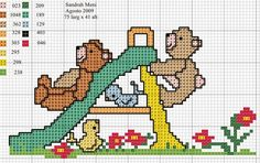 Cross Stitch: toys