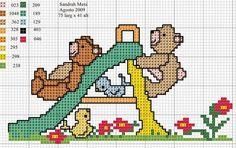 Cross Stitch: toys