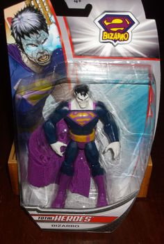 DC Comics Total Heroes BIZARRO Figure NEW MIP! #DCComics