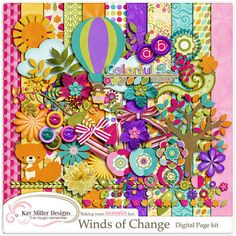 "Photo from album ""winds of Change"" on Yandex. Free Digital Scrapbooking, Digital Papers, Wind Of Change, Embellishments, Paper Crafts, Clip Art, Design, Yandex Disk, Album"