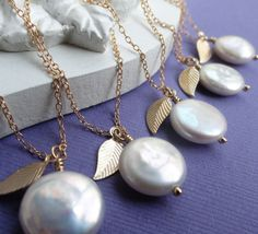 Bridesmaid gifts for Fall weddings Set of six by OtisBWeddings, $151.50
