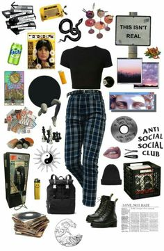 Art Hoe, Social Club, Alternative Outfits, Grunge Outfits, Clothing, Closet, Fashion, Tumblr Clothes, Outfits