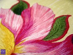 Silk shading worked by Noo B - detail 2 | Flickr: partage de photos!