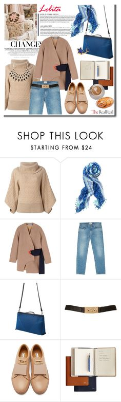 """""""Fall Style With The RealReal: Contest Entry"""" by cherry1987 ❤ liked on Polyvore featuring moda, VILA, Polo Ralph Lauren, Stella & Dot, Jacquemus, Acne Studios, Topshop y Marie Hélène de Taillac"""