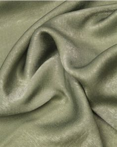 A soft, lightweight polyester satin fabric in a soft sage green shade. Polyester Satin, Satin Fabric, Green Satin, Fabric Online, Shades Of Green, Sage, Antiques, Antiquities, Antique