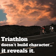 Feeling a little short on triathlon mojo? These 15 inspirational triathlon quotes will help motivate you to ramp up training again! Triathlon Humor, Ironman Triathlon Tattoo, Ironman Triathlon Motivation, Triathlon Training Plan, Triathlon Women, Training Tips, Fitness Motivation, Training Motivation, Motivation Quotes