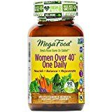 MegaFood - Women Over 40 One Daily, Promotes Immune Health & Well-being, 90 Tablets (FFP)