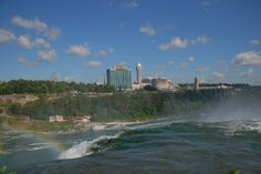 Need a place to stay in Niagara Falls? Check out this great hotel in Niagara Falls, Canada. Niagara Falls Canada Hotels, Great Hotel, Hotels And Resorts, Buffet, River, Places, Outdoor, Outdoors, Outdoor Games