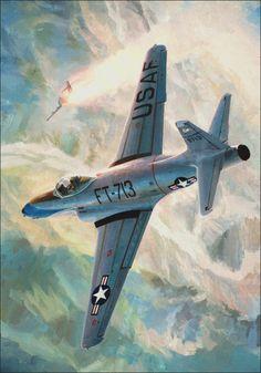 F-80C Shooting Star Korean War (Keith Ferris)