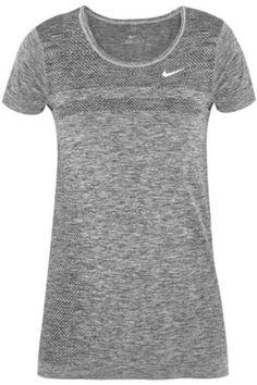 Dri-Fit Knit stretch-jersey T-shirt #knitwear #offduty #covetme #nike