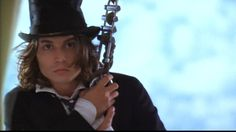 Benny and Joon.    Johnny Depp in this movie is the greatest thing that has ever happened in my life.