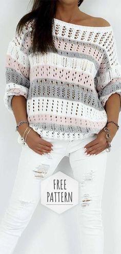 Crochet Blouse Free Pattern