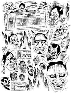 Crap Hound: Clipart mania zine | PingMag : Art, Design, Life – from Japan