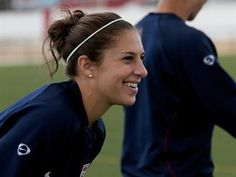 Carli Lloyd has been working harder than ever since scoring the game-winning goal in the gold-medal game at the 2008 Olympic Games in Beijing, China.