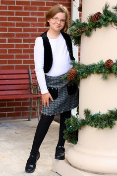 Cookie's Kids is a great place to shop for holiday outfits and school uniforms for kids. #CBias #CookiesKids #SocialFabric