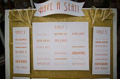Movie table plan