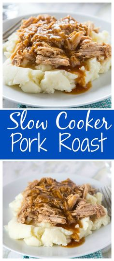 Slow Cooker Pork Roa