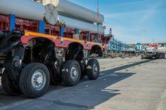 Der Tieflader CombiMAX von Faymonville. Konfiguriere Deine Fahrzeuglösung für mehr Flexibilität, Schnelligkeit und Effizienz! #schwertransport