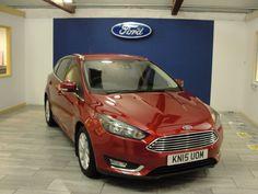 Ford Focus 1.0 EcoBoost 125 Titanium 5dr Hatchback Petrol Red Candy