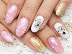 真冬にやりたい!冷たい指先も華やかに飾るトレンドネイルデザイン - Itnail