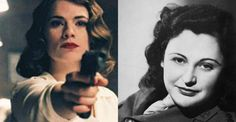 "With the season finale of Marvel's spy show ""Agent Carter"" airing tonight, take a look at some real badass spy women."