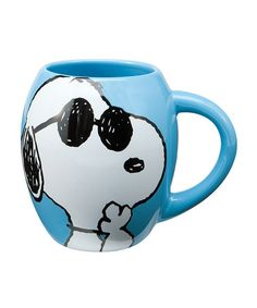 Take a look at this Peanuts Joe Cool 18-Oz. Mug by Vandor on #zulily today! $9 !!