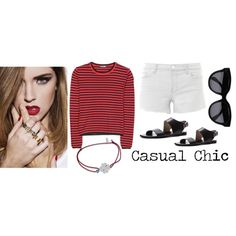 Designer Clothes, Shoes & Bags for Women Casual Chic, Shoe Bag, Polyvore, How To Make, Stuff To Buy, Shopping, Collection, Design, Women