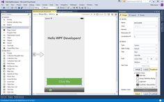 iOS-Designer in Visual Studio