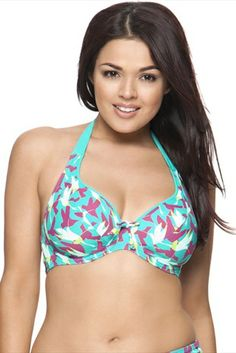 1897574e4bd New to the Curvy kate swimwear collection is the Birds of Paradise range.The  Curvy Kate Birds of Paradise bi