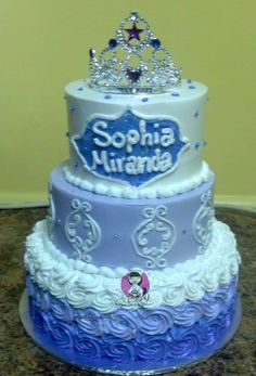 Princess Sofia Party, Birthday Cakes, Desserts, Kids, Pies, Tailgate Desserts, Young Children, Deserts, Boys