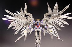 1:100 MG/028 / lint Angel / Zero wing / feather changed parts / Gundam Model dedicated /7 inch Assembled with high quality