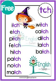 Kindergarten Spelling Words, Teaching Sight Words, Phonics Words, Spelling Rules, Phonics Reading, Teaching Phonics, Phonics Activities, Teaching Reading, English Stories For Kids