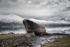 The lonely ship  Iceland  © Elisabetta Rosso Photography