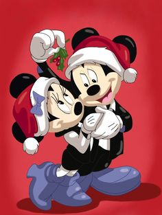 Christmas - Disney - Mickey & Minnie Mouse