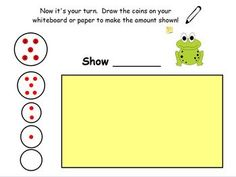 This free ActivInspire page will provide your class with unlimited coin counting practice using the Magic Money system.