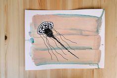 himynameisphilip is offline Crab Art, Posca, Jellyfish, Moose Art, Original Paintings, The Originals, Animals, Image, Color