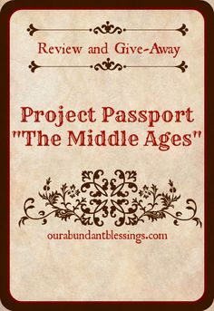 Project Passport Review and Giveaway at Our Abundant Blessings