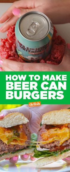 Beer Can Burgers = So Sexy They Might Not Be NSFW