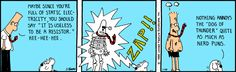 Nerd Puns - The Dilbert Strip for January 10, 1990