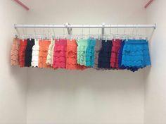Crochet shorts S-L $25