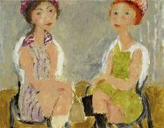 LADIES SALON by Svetlana Kurmaz , oil on canvas, 70x90cm, 2010.  © Svetlana Kurmaz Oil On Canvas, Painting, Art, Art Background, Painted Canvas, Painting Art, Kunst, Paintings, Oil Paintings