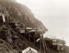 Construcciones esquimales Isla King.